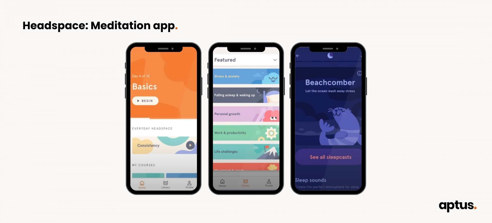 headspace app interface