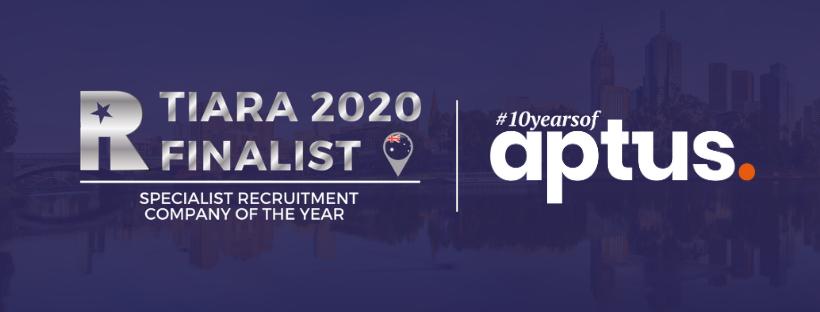 TIARA 2020 Finalist award