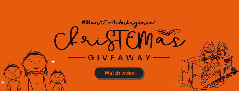 #IWantToBeAnEngineer ChriSTEMas Giveaway: Link to results