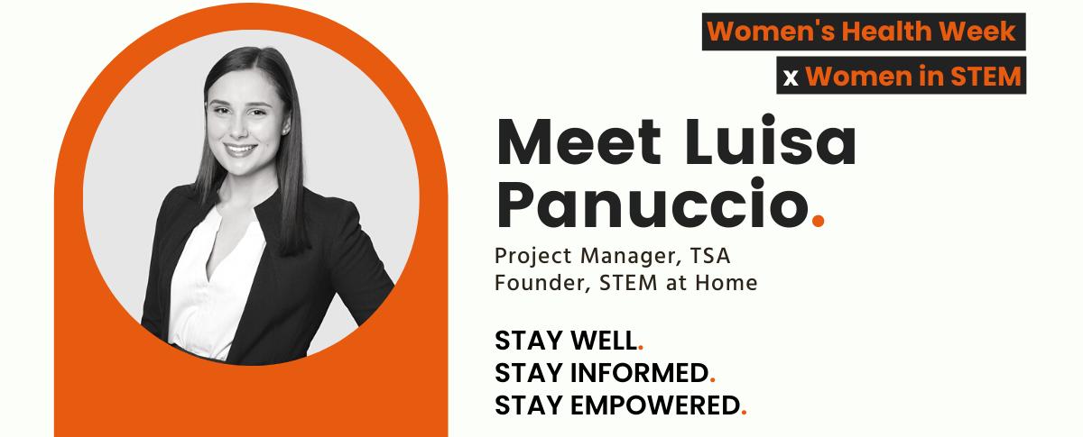 Women in STEM Luisa Panuccio